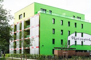 """3. Förderpreis Kunst und Design am Bau: """"Algenhaus"""", Am Inselpark, Hamburg<br />"""
