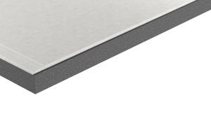 Die weiterentwickelte Verbundplatten mit Trockenbaukante Abbildungen: Fermacell