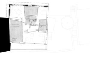 Grundriss Obergeschoss, Maßstab 1:250