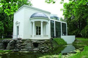Rekonstruktion als Gebäudeergänzung in alter Form: Das Rumpenheimer Schloss in Offenbach