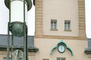 Von außen präsentiert sich das 1909 nach Plänen des Architekten August Buxbaum erbaute Darmstädter Schwimmbad eher schlicht