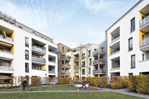 Barrierefreie Wohnungen im industriell geprägten Viertel in Köln-Buchheimnach einem Entwurf von Molestina Architekten Foto: Jens Willebrand