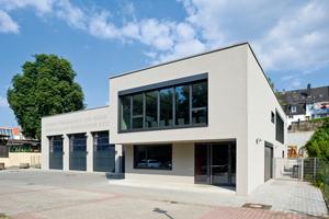 2. Preis Öffentliche Gebäude: Feuerwache Enge Gasse, Frankfurt am Main