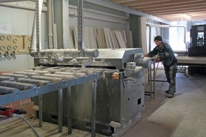 Vorfertigung der Deckenflügel in der Werkstatt der Firma Okel in Diemelstadt<br />Foto: Thomas Wieckhorst<br />
