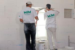 Fensterlaibungen lassen sich mit speziellen Laibungsplatten, mit einbeziehen<br />