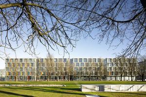 """<div class=""""99 Bildunterschrift_negativ"""">Sieger in der Kategorie Neubau: Technologiezentrums MTZ im Münchner Osten<br />Foto: Stefan Müller-Naumann</div>"""