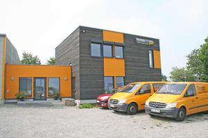 Das Firmengebäude übertrifft den Passivhaus-Standard