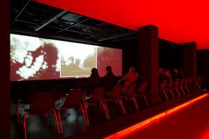Medienraum mit Kino im Museum<br />