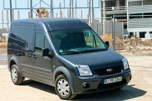 """Unser Testfahrzeug: Der Ford Transit Connect mit langem Radstand in der Ausstattungslinie """"Trend""""<br />"""