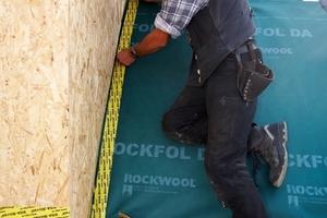 Anschluss der Dacheindeckung an die neuen Gauben