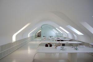 ... so sieht das Büro heute aus Foto: Unkrauss/Saint-Gobain Rigips
