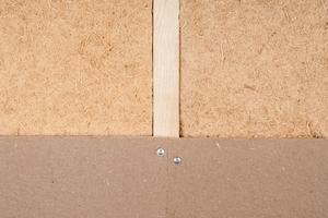 Das Trockenbausystem von Claytec: Holzfaserdämmplatte auf einer Unterkonstruktion aus Holz