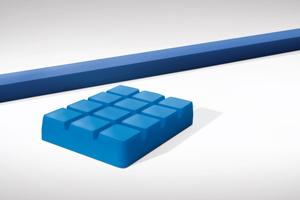 Die neu entwickelten Elastomerlager mit verbesserter Rezeptur und optimierter Formgebung für den EinbauFotos: Schöck