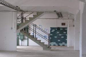 Alte Treppenanlage im Bestand Fotos: Harald Gasmann / k.u.g.-architekten