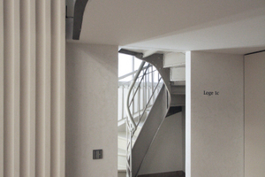 Treppenaufgang zur Galerie