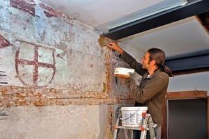 Viel Fingerspitzengefühl erforderte der Umgang mit den im Gebäude vorhandenen Renaissance-Malereien
