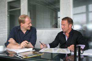 Burkhard Okel im Gespräch mit bauhandwerk-Redakteur Marvin Klostermeier
