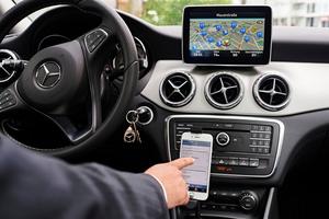 """Smartphone-Apps können die Führung eines Fahrtenbuchs vereinfachen<span class=""""bildnachweis"""">Foto: Yves Sucksdorff</span>"""