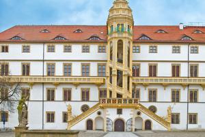 Mit Blick auf das 500. Reformationsjubiläum im kommenden Jahr wird Schloss Hartenfels umfangreich saniert