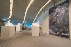 Ausstellung von Bergobjekten