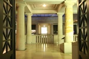 Blick in die Ausstellungsräume im Obergeschoss<br />