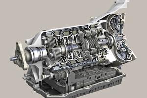 """Das vollautomatische 8-Gang-Wandlergetriebe von ZF wechselt in nur 200 Millisekunden die Gänge <span class=""""bildnachweis"""">Foto: Iveco</span>"""