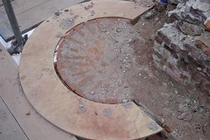 &nbsp;Das über Jahrhunderte ungeschützte Mauerwerk war partiell stark geschädigt und wurde fachmännisch rekonstruiert<br />