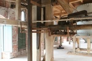 Bestandteile der Fördertechnik sollen auch nach der Umnutzung im Gebäude verbleiben<br />