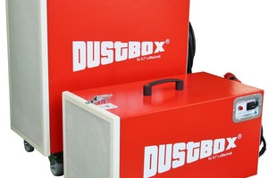 """""""Dustbox""""-Hochleistungsluftreiniger """"DB 1000"""" und """"DB 2000"""" mit Erfassungselementen Fotos: Möcklinghoff Lufttechnik"""