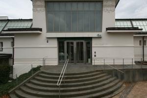 Nebeneingang auf der Rückseite des Ernst Ludwig Hauses<br />