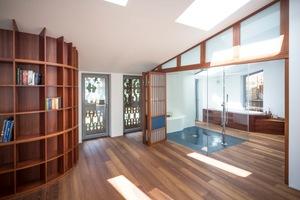 Die hochwertige handwerkliche Gestaltung wird in den Räumen fortgeführt<br />