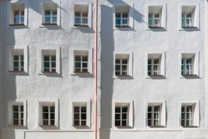 Privates Bauwerke mit Silber: Altstadthaus Schrottgasse in Passau<br />Foto: Johanna Borde