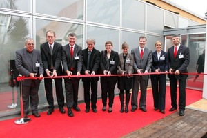Feierliche Eröffnung des LichtAktivHauses in Hamburg-Wilhelmsburg<br />