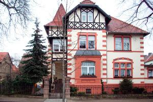 Der zweite Preis ging an Matthais Röthling für die detailgetreue Arbeit an der Fassade einer historischen Villa