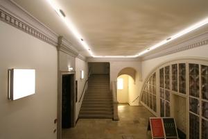 Blick in das seitliche Treppenhaus<br />