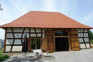 Ehemaliges Torkelgebäude in Salem-Mittelstenweiler<br />Foto: Anette Busse