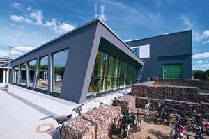 Mit dem Lippe Bad in Lünen errichtete die Okel GmbH eines der ersten Passivhaus-Schwimmbäder Europas