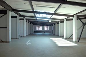Insgesamt wurden im historischen Parkhaus rund 3000 m² Bodenfläche instand gesetzt und neu beschichtet<br />