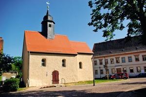 Nachdem die Emmauskirche Ende Oktober 2007 am Stück per LKW von Heuersdorf nach Borna verbracht wurde, ist sie nun auch komplett saniert