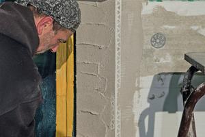 Das Kantenprofil ermöglicht den Handwerkern die Ausbildung von stumpfen, spitzen und rechtwinkligen Kanten<br />
