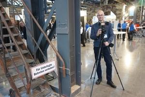 Chefredakteur Thomas Wieckhorst auf den Knauf Werktagen in Düsseldorf