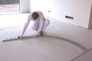 Wandverlauf anzeichnen, RiSyWAVE-Bodenprofil biegen