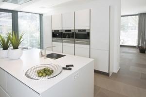 Blick in die Küche im Erdgeschoss<br />