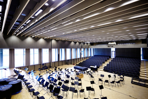 """Preis Innovation für Institutsgebäude für Kunst und Musik in Augsburg an TM Ausbau<span class=""""bildnachweis"""">Foto: Rigips</span>"""
