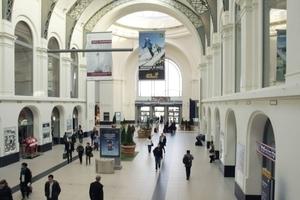 Ein letzter Blick in die große Halle des Stuttgarter Bahnhofs Foto: Benedikt Kraft
