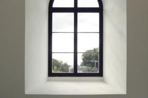 Fenster im Foyer