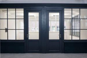 Im Zuge der Sanierung konnten auch alte Türsysteme erhalten bleiben<br />