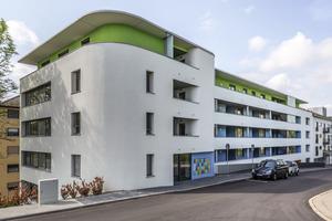 2. Preis Wohn- und Geschäftshäuser: Erweiterung Seniorenzentrum in Pforzheim, Frankstraße