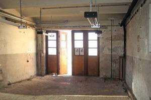 Blick in das Leipziger Kutscherhaus vor der Umnutzung zum Wohnhaus<br />