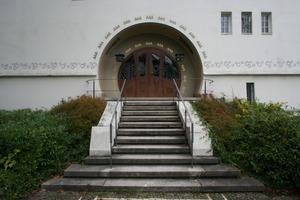 Haupteingang ins Große Haus Glückert<br />